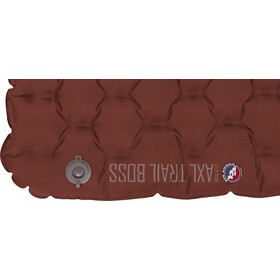 Big Agnes Insulated AXL Trail Boss Air Pad Long 51x198cm burnt orange/gray